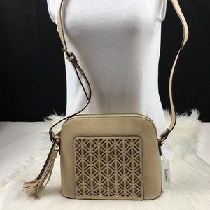Handbags - Thavies lasercut tassel crossbody